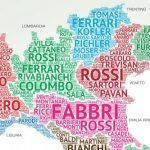 NOMES E SOBRENOMES ITALIANOS MAIS POPULARES