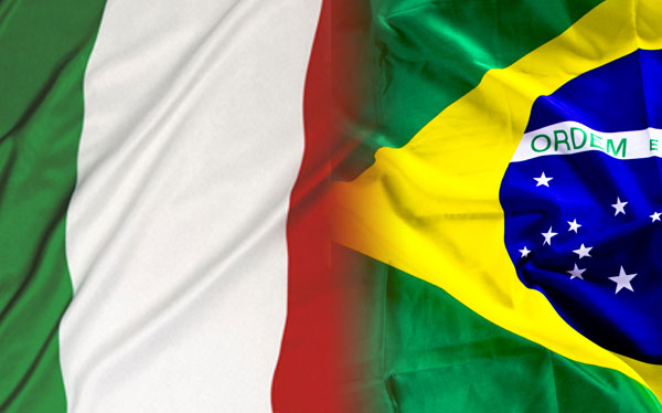 parceria econômica entre brasil e itália