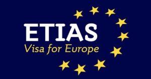 ETIAS permissão de viagem para entrada na União Europeia