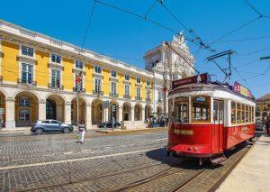 Bondinho típido de Portugal