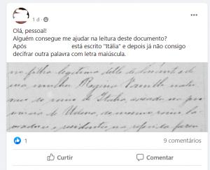 print do facebook